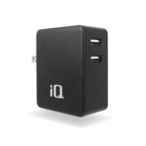 IQ DUAL USB 4.8A WALL CHARGER