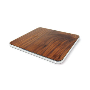 iQ Ultra QI Wireless Dual Charging Pad- Wood