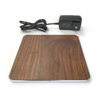 IQ ULTRA WIRELESS QI CHARGING PAD DUAL, WOOD
