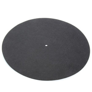 ANTI-STATIC RECORD FELT MAT – CALIBER AUDIO