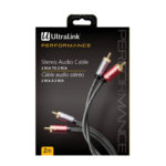 2M AUDIO CABLE RCA TO RCA – ULTRALINK PERFORMANCE
