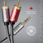 2M AUDIO CABLE 3.5 TO RCA – ULTRALINK PERFORMANCE