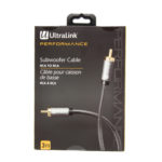 3M SUBWOOFER CABLE RCA – ULTRALINK PERFORMANCE
