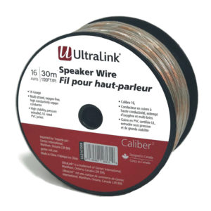 100FT 16AWG SPEAKER WIRE BULK – ULTRALINK