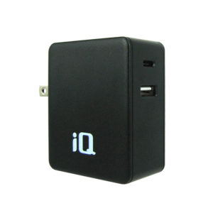 IQ WALL CHARGER WITH TYPE-C & USB